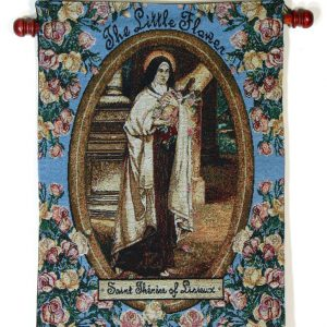 St. Therese 13x18 Wall Hanging #1318-STT-0