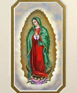 Our Lady of Guadalupe 3x5 Prayerful Mat #35MAT-G-0