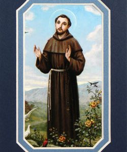 St. Francis of Assisi 3x5 Prayerful Mat #35MAT-STF-0