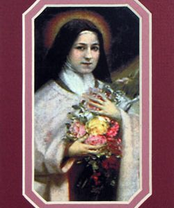 St Therese 3x5 Prayerful Mat #35MAT-STT(d)-0