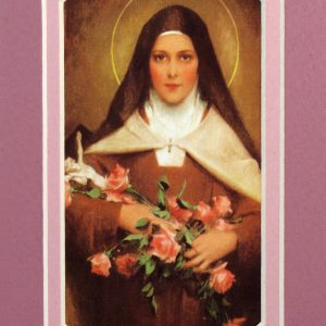 St. Therese 3x5 Prayerful Mat #35MAT-STT-0