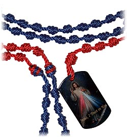 Cord Kit Dog Tag Chaplet Divine Mercy-0
